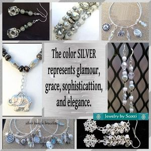 Handcrafted Silver Bracelets, Necklaces, Earrings